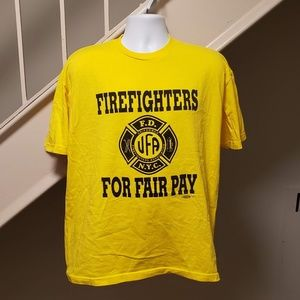 NYC Firefighters Association XL T-Shirt